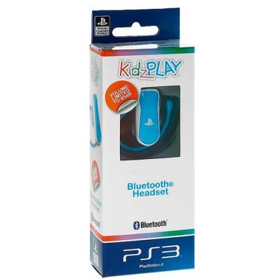 Детская Bluetooth гарнитура Kidz Play для PS3 (голубая)