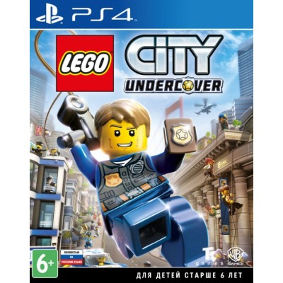 LEGO City: Undercover (русская версия) (PS4)