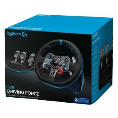 Руль Logitech G G29 Driving Force, черный