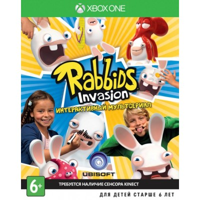 Rabbids Invasion (с поддержкой Kinect) (русская версия) (Xbox One/Series X)