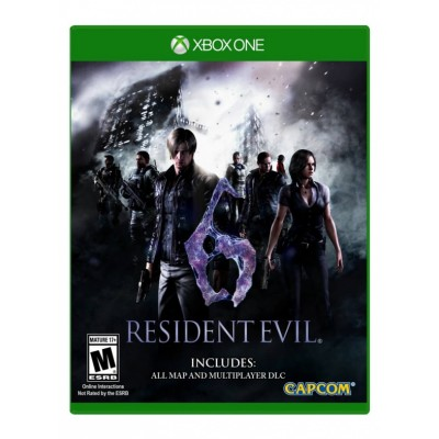 Resident Evil 6 (русские субтитры) (Xbox One/Series X)
