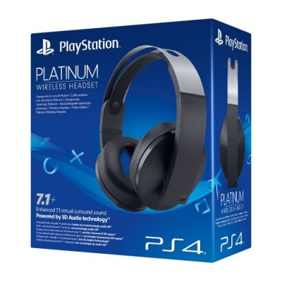 Компьютерная гарнитура Sony Platinum Wireless Headset черный