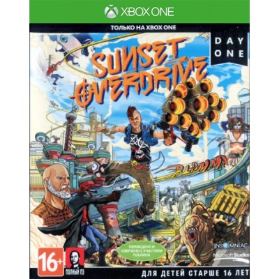 Sunset Overdrive (русская версия) (Xbox One/Series X)