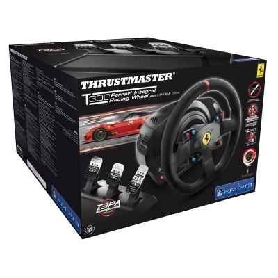 Руль Thrustmaster T300 Ferrari Integral Racing Wheel Alcantara Edition, черный