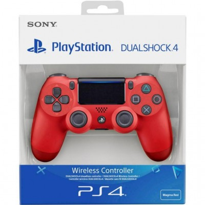 Sony DualShock 4 v.2 Magma Red (PS4)