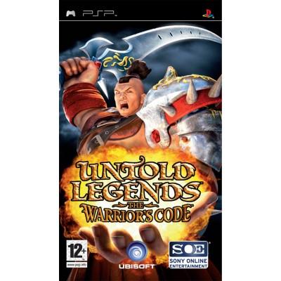 Untold Legends: The Warrior's Code PSP