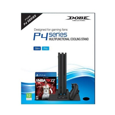 Вертикальный стенд с охлаждением Multi-Functional Cooling Stand (TP4-882 Dobe) (PS4)