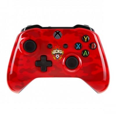 Джойстик беспроводной Wireless Controller для Xbox One ЦСКА «Красно-армейский»