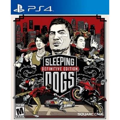 Sleeping Dogs Definitive Edition (русские субтитры) (PS4)